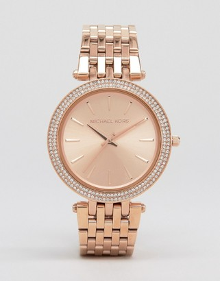 Michael Kors MK3192 Darci rose gold watch