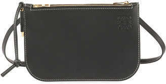 Loewe Gate Double Zip Pouch Clutch Bag
