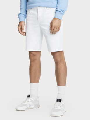 Scotch & Soda Ralston Slim Fit Garment Dyed Denim Short | Men