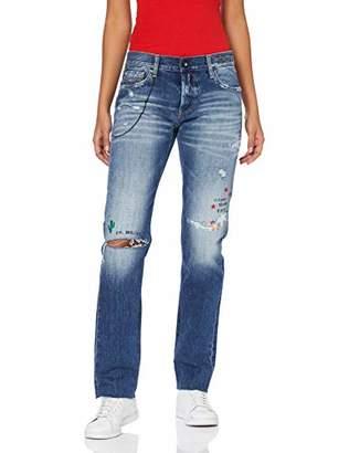 Replay Women's Ilariya Straight Jeans,W26/L30 (Size: 26)