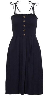 Dorothy Perkins Womens **Vero Moda Navy Tie Strap Camisole Cotton Dress