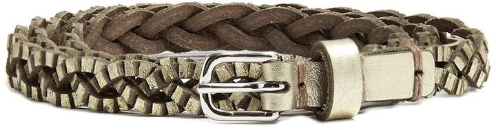 Isabel Marant Braided leather waist belt