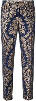 P.A.R.O.S.H. arabesque pattern skinny trousers