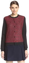 Carven Women's Lace Cardigan