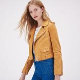 Maje Suede leather jacket
