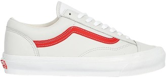 Mens Red Striped Shoes Vans | Shop the