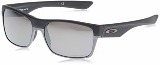 Oakley Men's Injected Man Sunglass Square