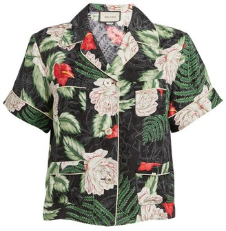 Gucci Silk Hawaiian Print Shirt