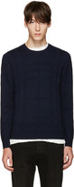 Burberry Navy Turners Sweater