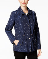 Charter Club Dot-Print Anorak Jacket, Only at Macy's