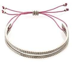 Marc By Marc Jacobs Textured Slot Friendship Bracelet(Rose Gold)