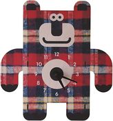 Modern Moose Bear 3D Wall Clock