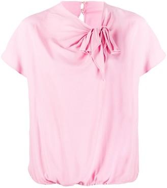 Pinko Knot Design Blouse