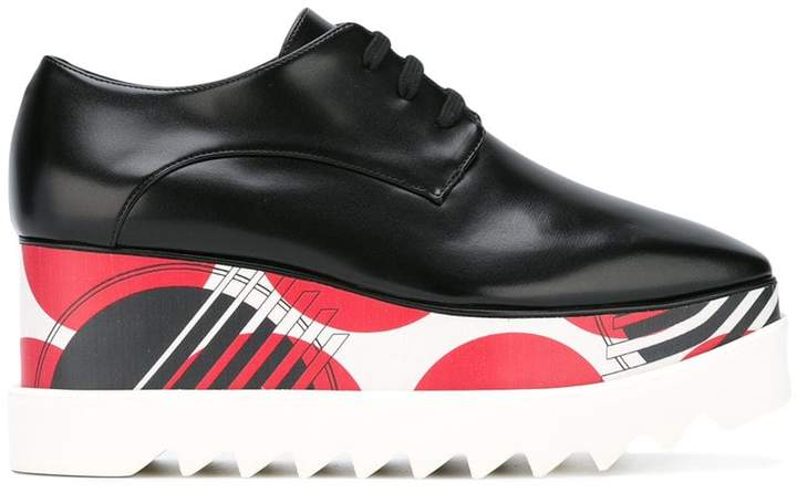 Stella McCartney printed Elyse platform shoes