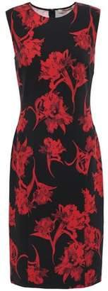 Roberto Cavalli Floral-print Ponte Dress