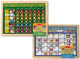 Melissa & Doug Magnetic Monthly Calendar & Responsibility Chart Bundle