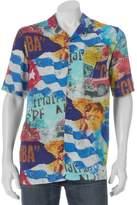 Blue Marlin Men's Button-Down Shirt