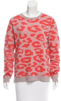 A.L.C. Wool Abstract Print Sweater