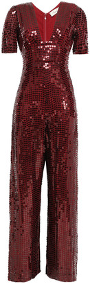 Temperley London Sequined Georgette Jumpsuit