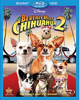 Disney Beverly Hills Chihuahua 2 Blu-Ray and DVD