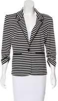 Laundry by Shelli Segal Striped Knit Blazer