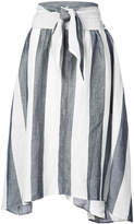 Apiece Apart Cosmos Convertible striped dress