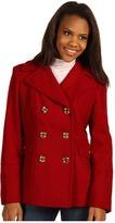 MICHAEL Michael Kors Renee Wool Peacoat (Red) - Apparel