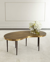 Arteriors Rein Brass Coffee Table