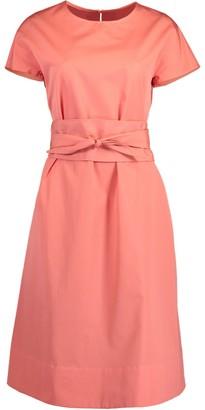 Aspesi Azalea Round Neck Belted Dress