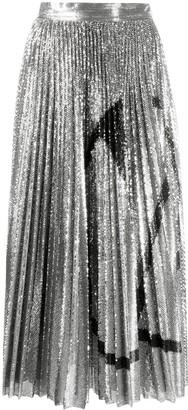 Valentino VLOGO sequined skirt