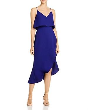 Aqua Asymmetric Ruffle Dress - 100% Exclusive