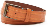 Ted Baker Stitch Detail Leather Belt