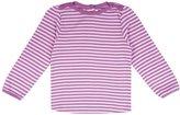 Jo-Jo JoJo Maman Bebe Stripe Top - Cream/Rose Stripe-6-12 Months