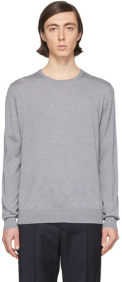 Lanvin Grey Wool Sweater