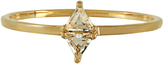 Elise Dray Topaz & yellow-gold ring