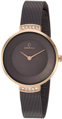 Obaku Women's Analog-Quartz Watch with Stainless-Steel Strap