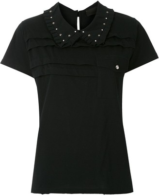 Andrea Bogosian spread collar T-shirt