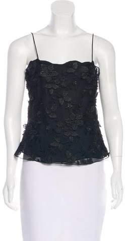 Giorgio Armani Sleeveless Silk Blouse