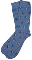 John Lewis Barbour Beetle Socks, Blue