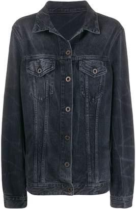 Unravel Project stonewash denim jacket