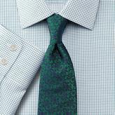 Charles Tyrwhitt Classic fit non-iron Windsor check green shirt