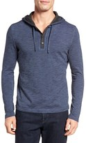 Robert Barakett Men's Douglas Hooded Henley