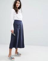 Max & Co. MAX&Co Discorso Midi Skirt
