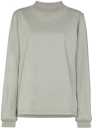 LES TIEN High-Neck Sweatshirt