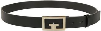 Givenchy Logo Plaque Buckle Belt