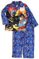 DC Comics Lego DC Super Heroes Boys Flannel Pajamas