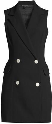 Black Halo Rio Sleeveless Blazer Dress