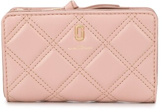 Marc Jacobs The Quilted Softshot compact wallet