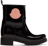 Moncler Black Rubber Ginette Boots