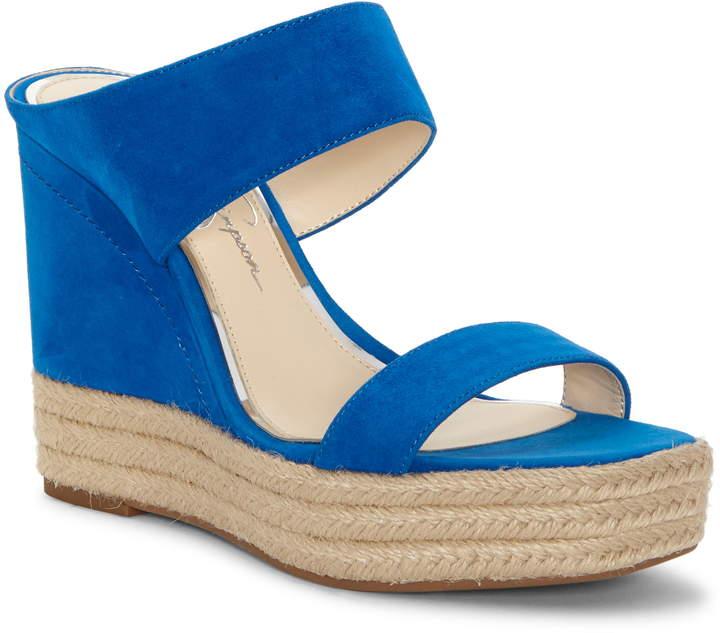 3959c4ab925 Siera Espadrille Wedge Slide Sandal